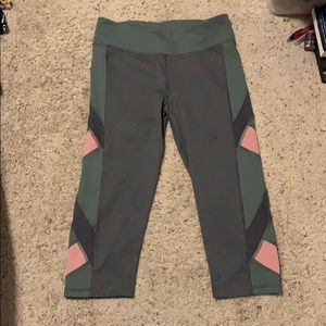 Aeropostale cropped workout pants